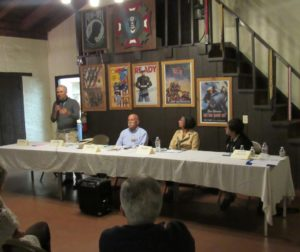 San Juan Bautista Candidate Forum at the VFW building. Photo by Noe Magaña.