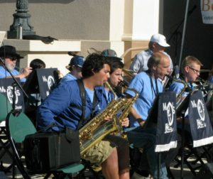 Mr. O's Jazz Band in 2017. Photo provided.