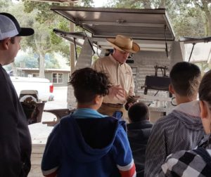 Chamberlain's students on an outing during Ag in the Classroom day. Photo provided.
