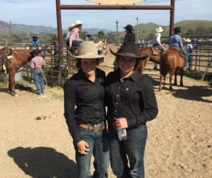 Lilla Bell and Beth Hitchcock will compete in the Last Chance Jackpot Dec. 7  for a spot in the Champions Dual on Dec. 8. Photo courtesy Nikki Bell.