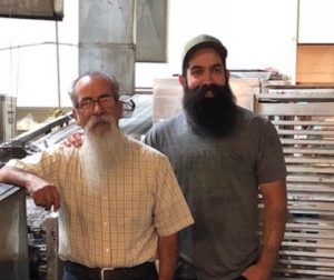 Adolfo Berlanga (left) with his son Frankie. Photo courtesy of the Berlanga family.