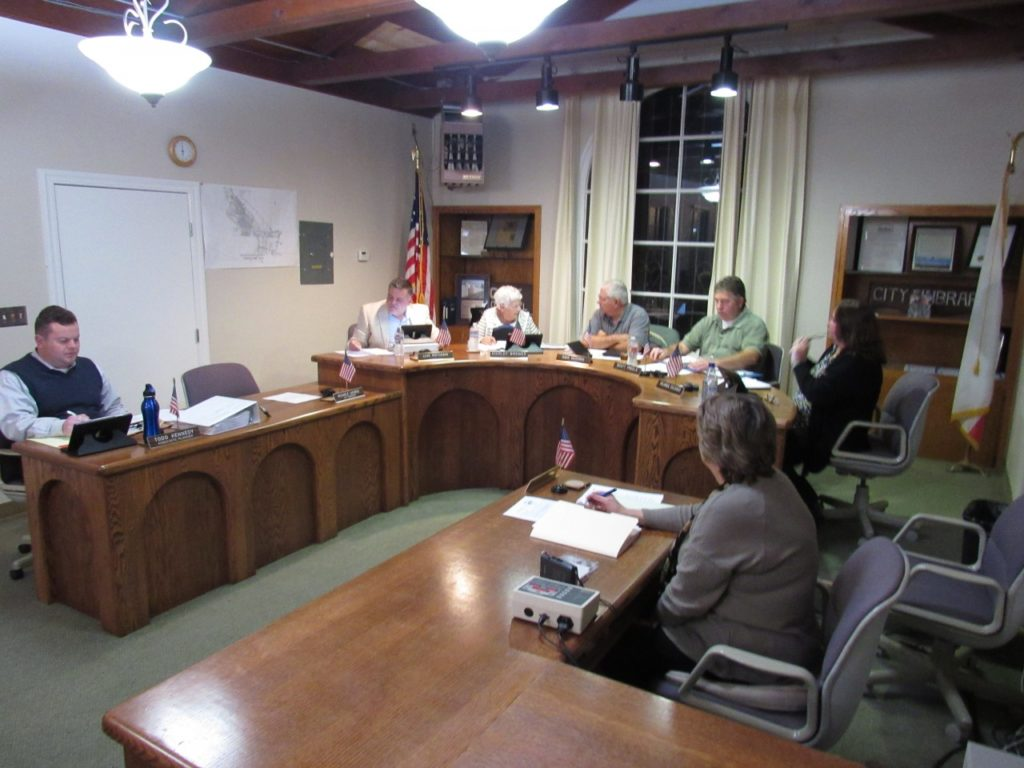 Historic Resources Board and San Juan Bautista Planning Commission at the Jan. 14 meeting. Photo by Noe Magaña.