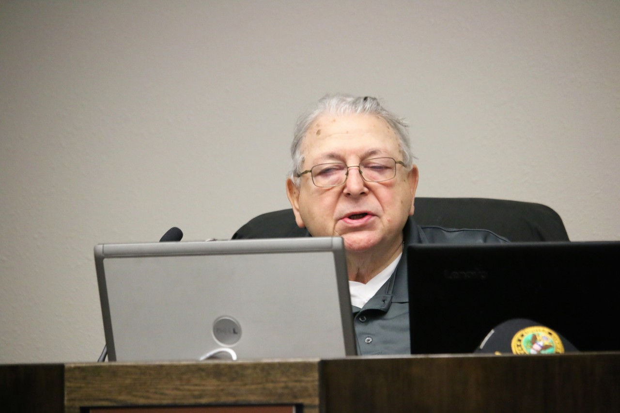 Vice Mayor Marty Richman said the city's General Plan calls for mixed-use buildings downtown. Photo by John Chadwell.