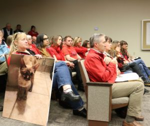 A group of animal advocates spoke passionately about the plight of feral cats in the community at a recent Hollister City Council meeting. Photos by John Chadwell.