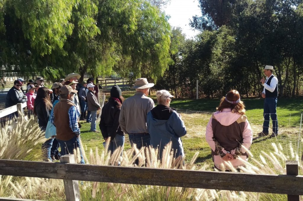 Previous Field Day event held at Paicines Ranch. Photo by Becky Bonner.