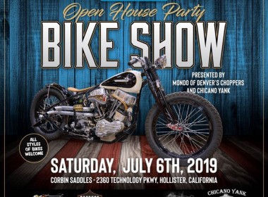 Corbin is hosting Mondo Porras of Denver Choppers at his 2019 event. Art courtesy of Corbin.