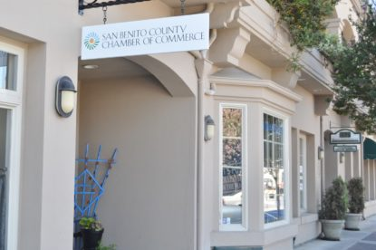 San Benito County Chamber of Commerce office in downtown Hollister. File photo by John Chadwell.