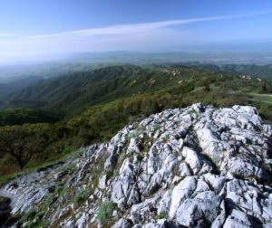 Fremont Peak and the Gabilan Range. Photo courtesy of Jim Ostick.