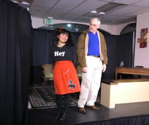 From San Benito Stage Company production of Sylvia. Photo provided.