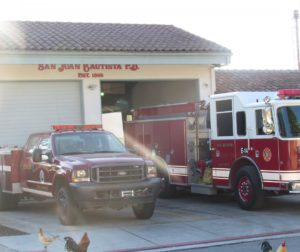 Fire Station No. 4 in San Juan Bautista. Photo by Noe Magaña.