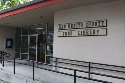 San Benito County Free Library. File photo by John Chadwell.
