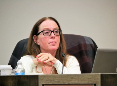Councilwoman Honor Spencer gave a passionate plea for civility, especially among council members. Photo by John Chadwell.