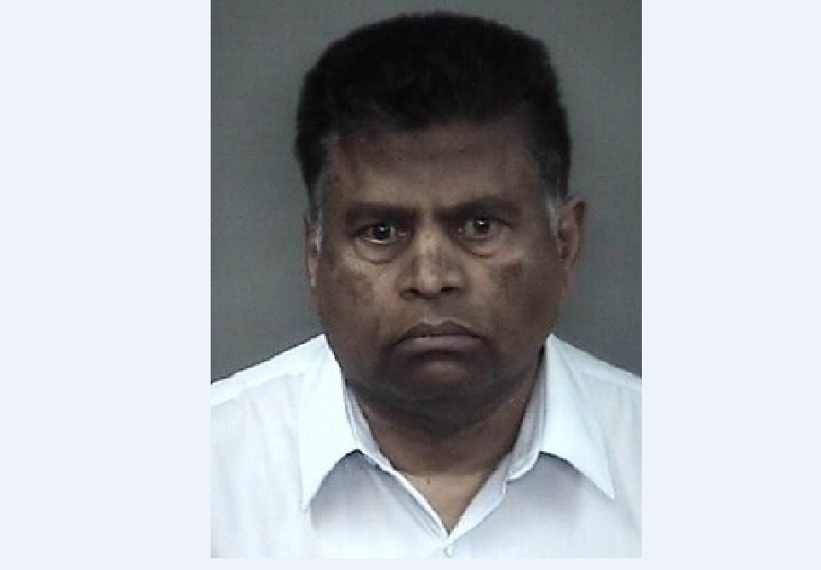 Mug shot of Annamalai Ashokan after being arrested for felony sexual assault. Photo courtesy of Chico Police Department website.