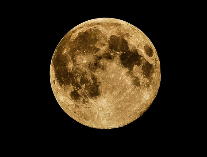 The will be a full moon on April 28.