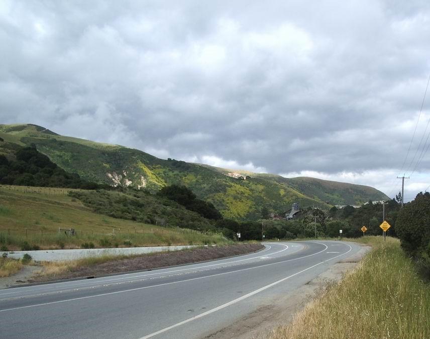 Pajaro Gap on Highway 129. Photo by Jim Ostdick.
