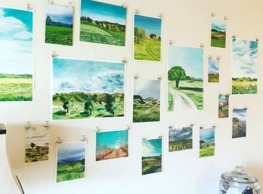 Last year Graves had her art on display in her home for the San Benito County Arts Council's Open Studios Art Tour.