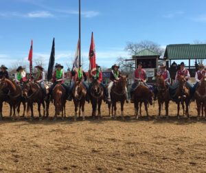 San Benito County students at the California High School Rodeo Association's Challenge of Champions rodeo. Photo courtesy of Nikki Bell.