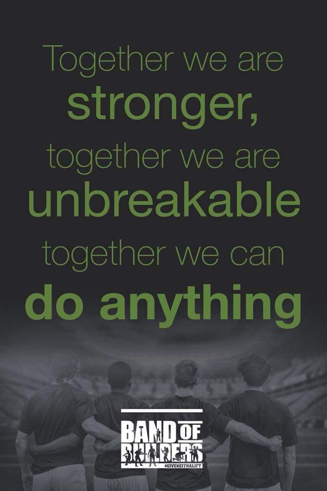 Together We Can Accompplish Anything. Provided by Mark Medina.