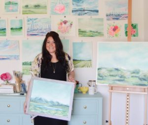 """Art is important because it allows us to be individuals both as the makers and as collectors,"" said local artist Michaela Graves. Photos courtesy of Michaela Graves."