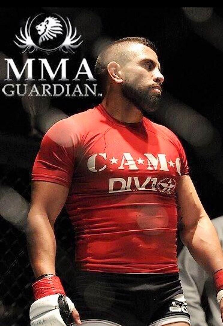 Nolasco began training in jiu-jitsu at 19 and fought in MMA until four years ago. Photo courtesy of Edgar Nolasco.