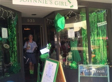 The event, which had nine pariticpating downtown businesses, was started by Johnnie's Girl co-owner Patty Marfia. Photo by Becky Bonner.