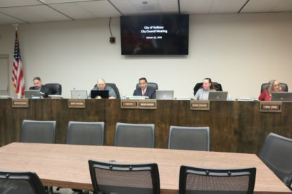 Hollister City Council decided to push agenda item about amending cannabis ordinance to May. Photos by John Chadwell.