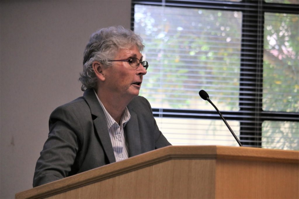 County Agriculture Commissioner Karen Overstreet said only 50 applications will be approved for cultivating cannabis in San Benito County. Photo by John Chadwell.