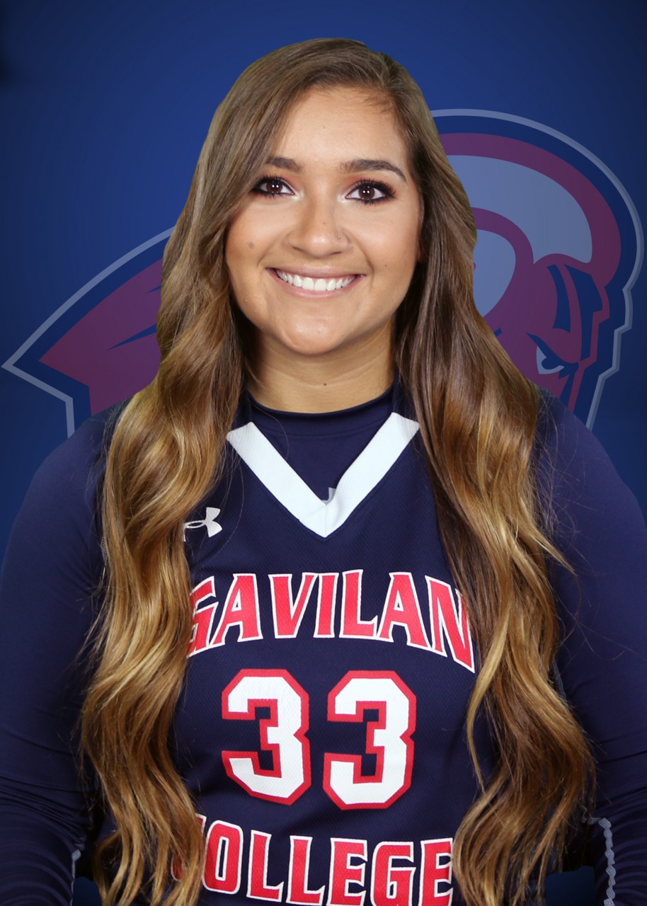 Jessica Curto, a San Benito High School graduate, now playing for Gavilan College. Photo provided by Gavilan College.