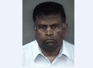 Mug shot of Annamalai Ashokan after being arrested Jan. 30 in Chico. Photo courtesy of Chico Police Department website.
