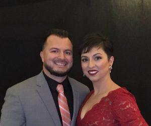 Elias Barocio Jr. and his wife Araceli Barocio. Photo provided.