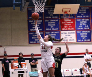 Jessica Curto was named first team at the All-Coast Conference. Photo provided by Gavilan College.