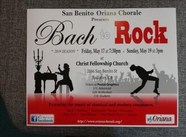 Concert Flyer. Photo by Carmel de Bertaut.