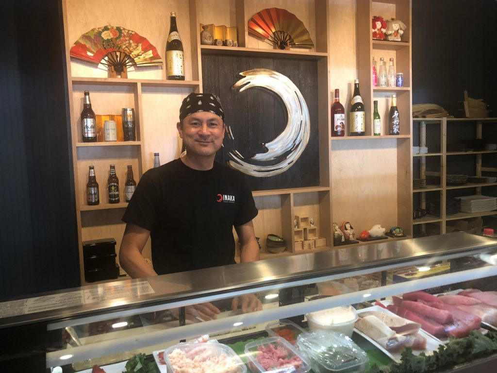 Dave Io, sushi chef and co-owner of Inaka. Photo by Noe Magaña.