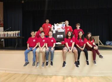 San Benito High School Robotics Team. Photo by Carmel de Bertaut.