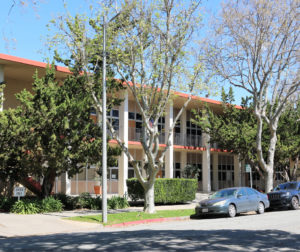 County Office Building on Fifth Street in Hollister, which houses the San Benito County Elections Office. Photo by Leslie David.