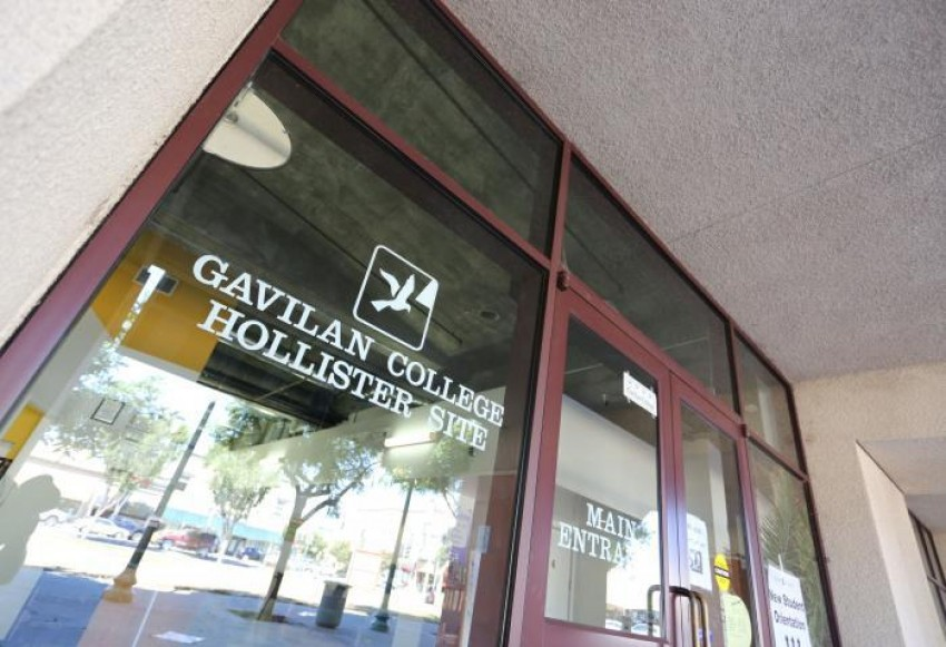 Gavilan College site at the Briggs Building in downtown Hollister. File photo.