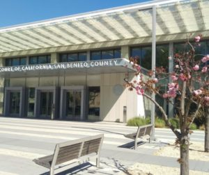 The Superior Court of California in San Benito County is located at 450 Fourth Street in Hollister. File photo.