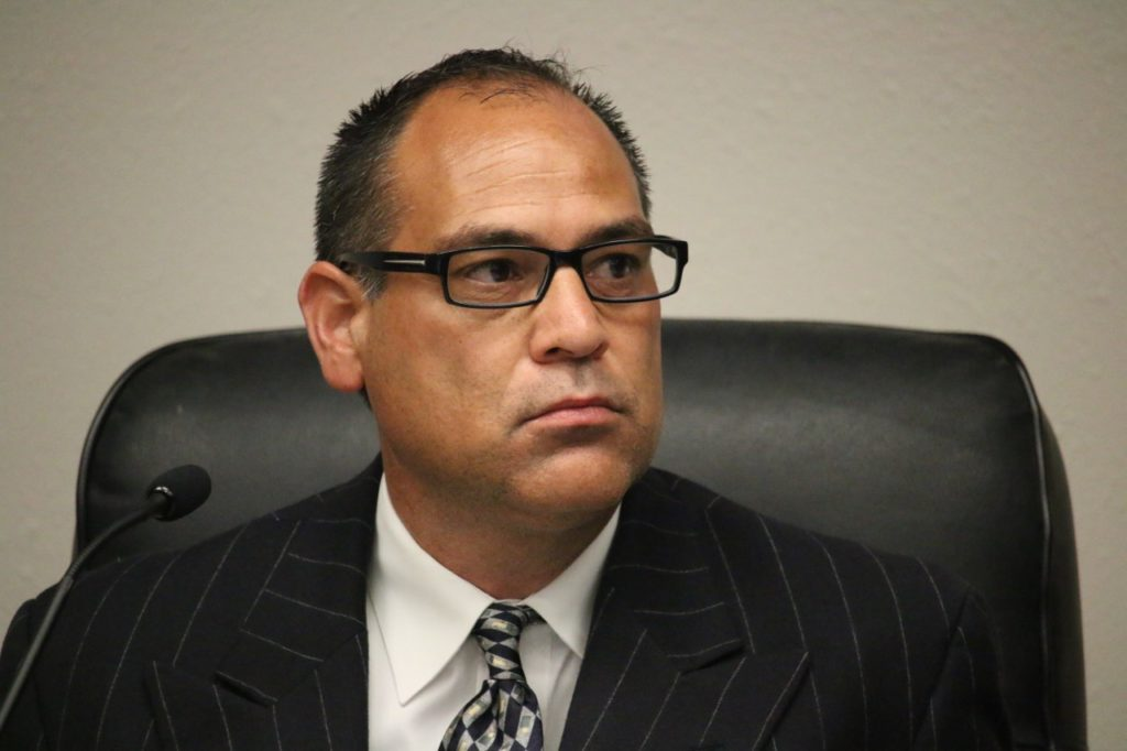 San Benito County Supervisor Mark Medina. File photo.