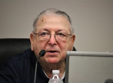 Vice Mayor Marty Richman wanted residents to understand what the repeaters were for because of the high cost. He pulled the item from the consent agenda for discussion. Photo by John Chadwell.