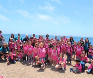 Central Coast YMCA summer day camp 2018 participants during an outing to the beach. Photo courtesy of Crystal Canchola and the YMCA of San Benito County.