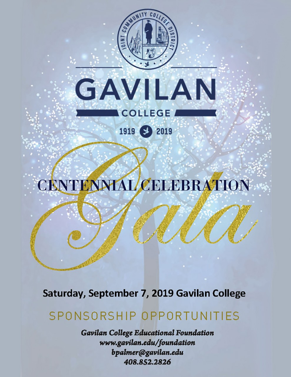 Flyer courtesy of Gavilan College website.