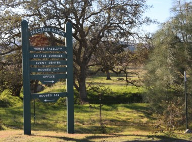 Entrance to Paicines Ranch. Photo by Leslie David.