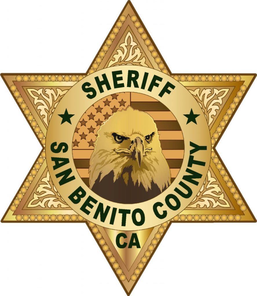 Seal courtesy of San Benito County Sheriff's Office.