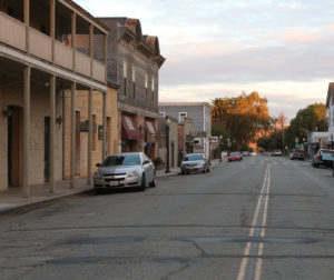 Downtown San Juan Bautista. Photo by Leslie David.