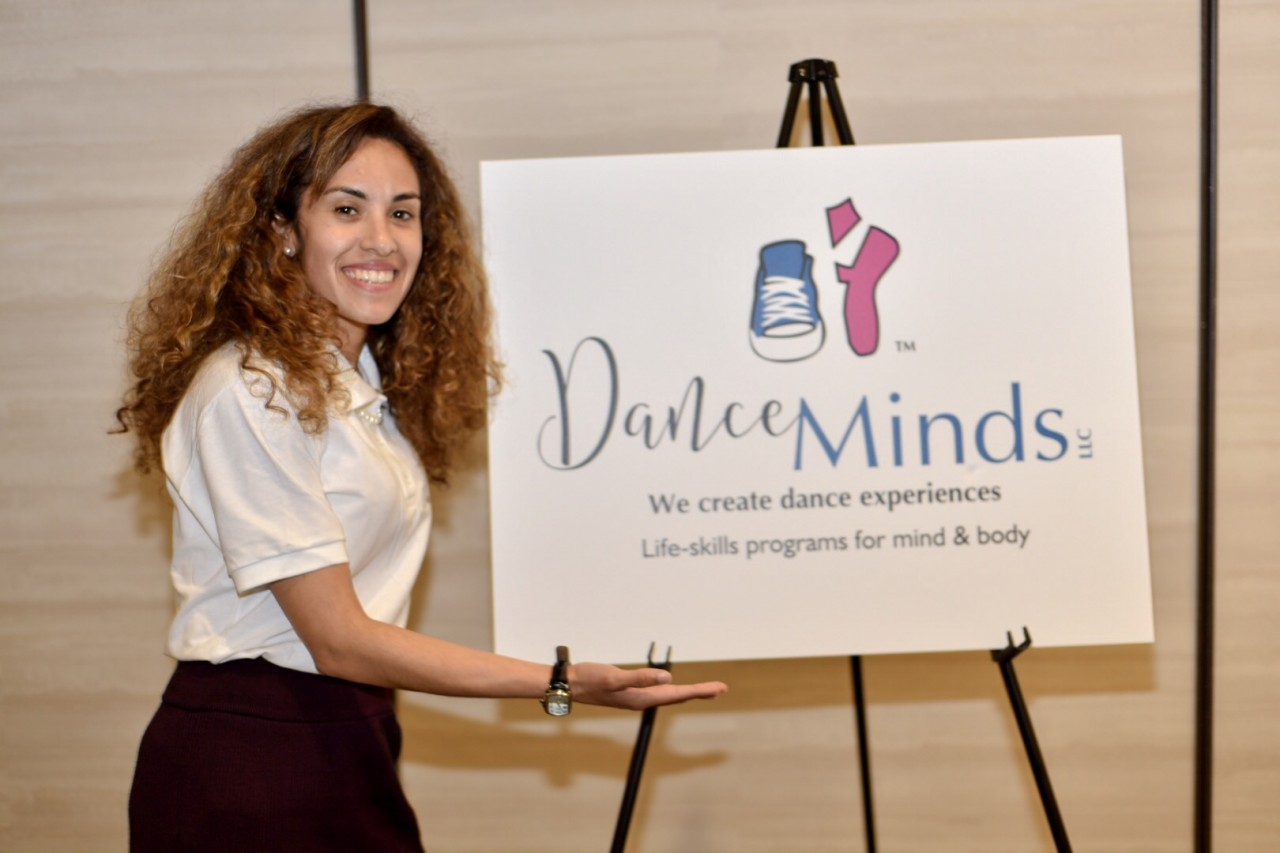 """Veronica Vasquez, founder of DanceMinds. While the San Benito County business did not advance to the Otter Tank, Vasquez said the experience helped her clarify her vision. """"My main takeaway was that I should be thinking bigger than I have been,"""" said Vasquez. """"I'm going to start shooting bigger, and thinking bigger."""
