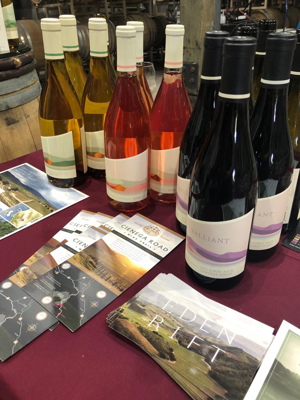 Wine provided by Eden Rift Vineyards.