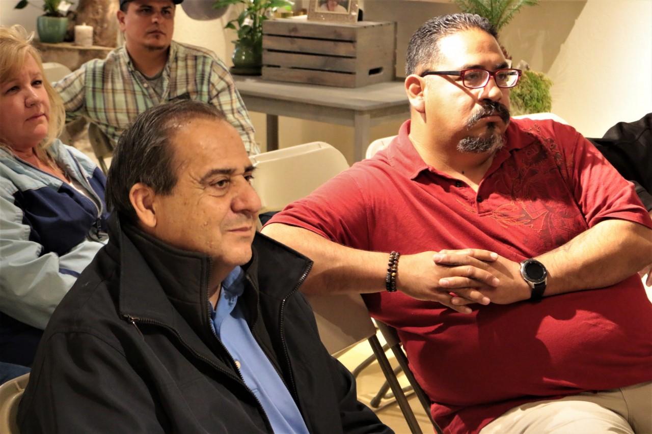 Supervisor Jaime De La Cruz and Councilman Rolan Resendiz attended the meeting.