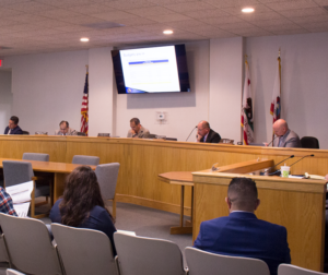 File photo of the San Benito County Board of Supervisors at the May 21 meeting. Photo by Noe Magaña.