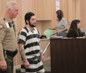 Jose Antonio Barajas has plead not guilty to killing 19-year-old Ariana Zendejas in 2014. Photos by John Chadwell.