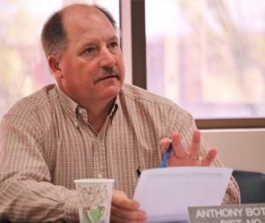 Supervisor Anthony Botelho at a board retreat. File photo by John Chadwell.